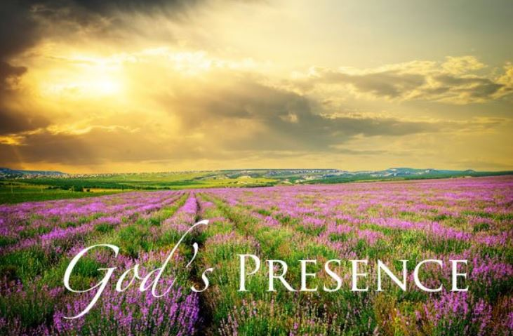 God's Presence – September Blog